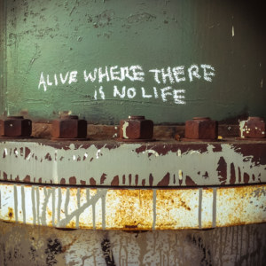 Alive where there is no life
