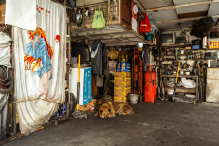 A ground floor mechanic in the 13 Streets