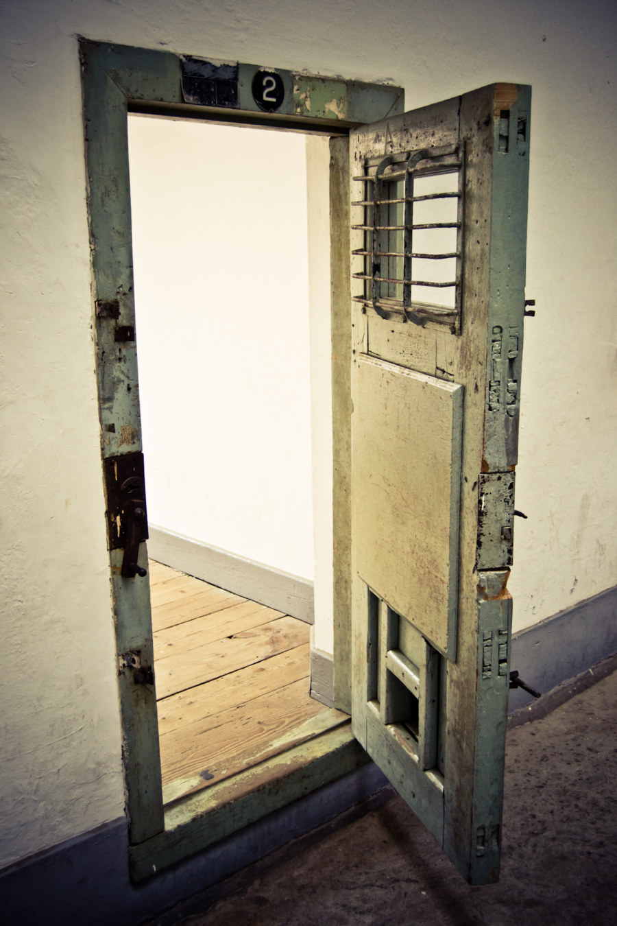 Seodaemun Prison Cell Door
