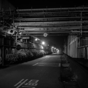 Dark night, Changhua City