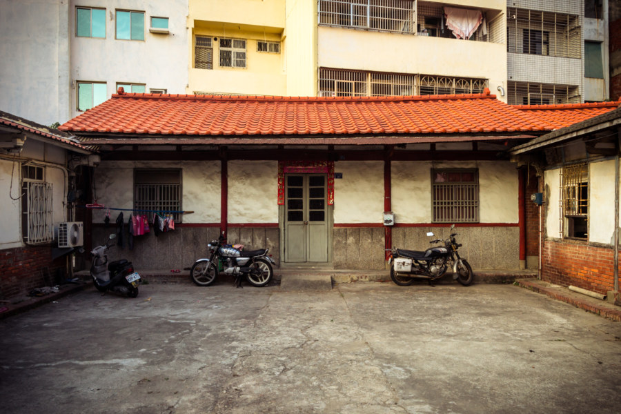A traditional home hidden in back alley Changhua City