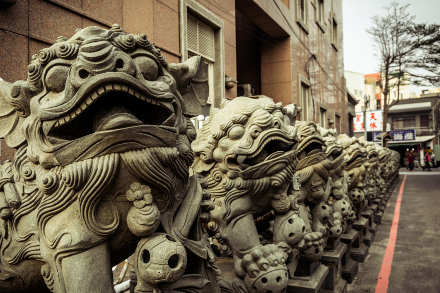 The lions of Lukang