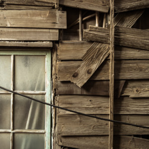 Wood and window in Lukang