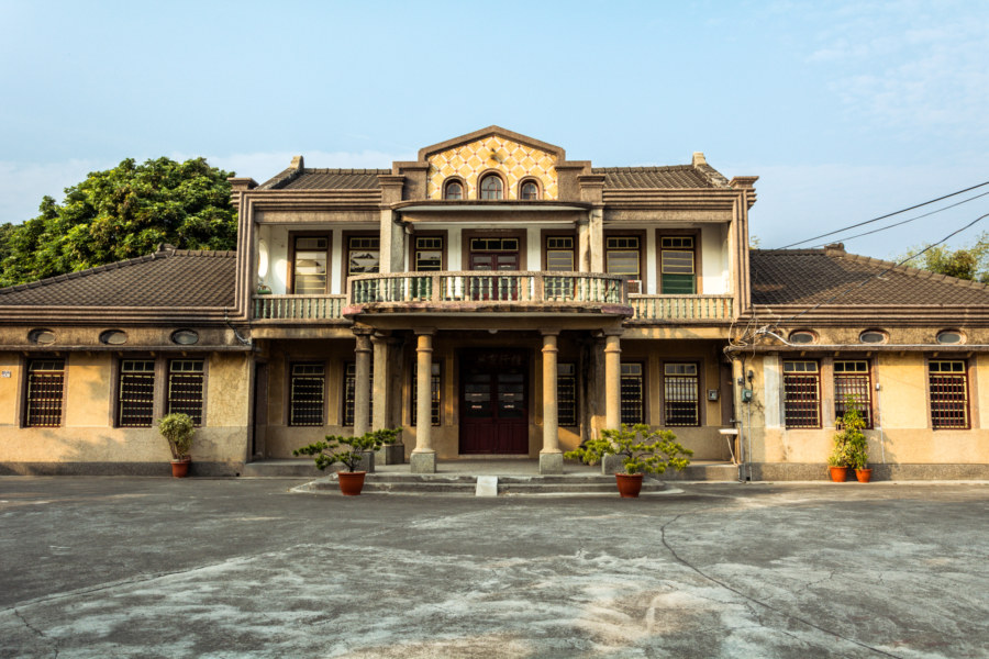 One last look at a mansion in Puxin Township