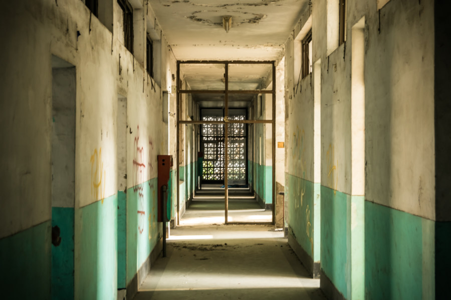 Stalking the corridors of Yuanlin Hospital