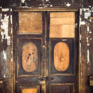 What these old doors might say