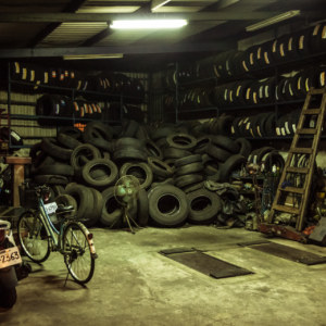 Tire shop in Dapu