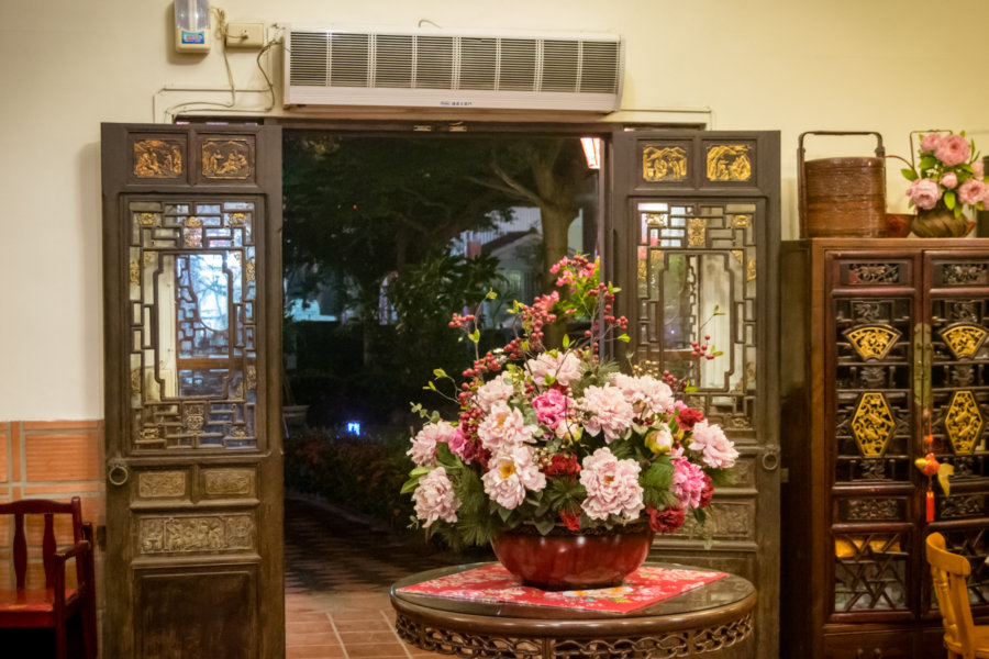 A Hakka Floral Entrance