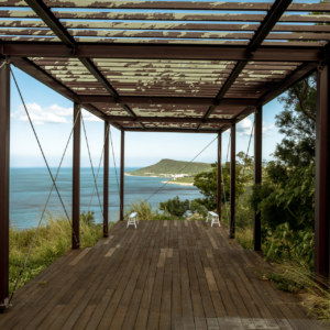 Abandoned lookout on Guanshan