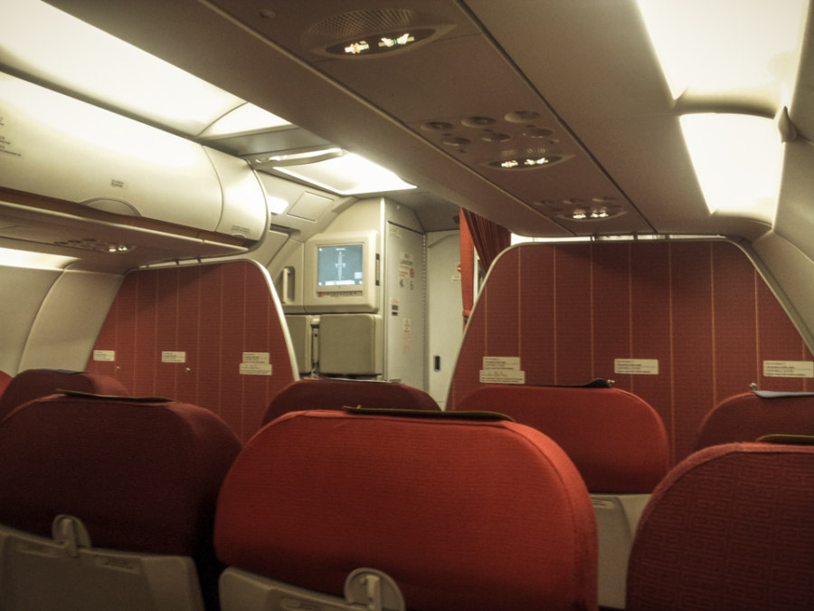 HKexpress cabin