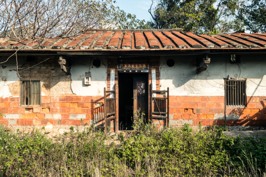 An abandoned farmhouse in Shalu