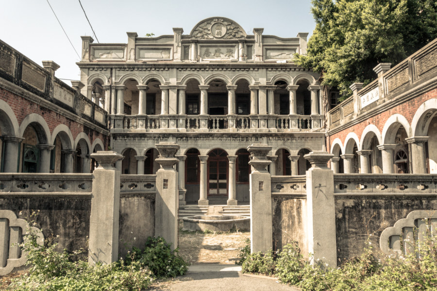 Jukuiju, an abandoned mansion in Taichung