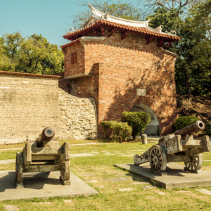 Xiaoximen and the ruins of the eastern wall