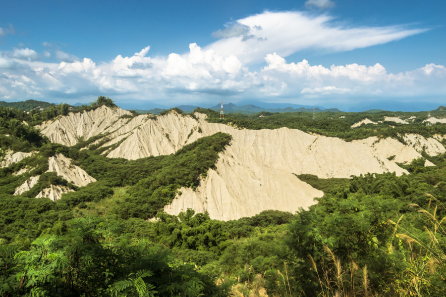 Into the badlands of southern Taiwan