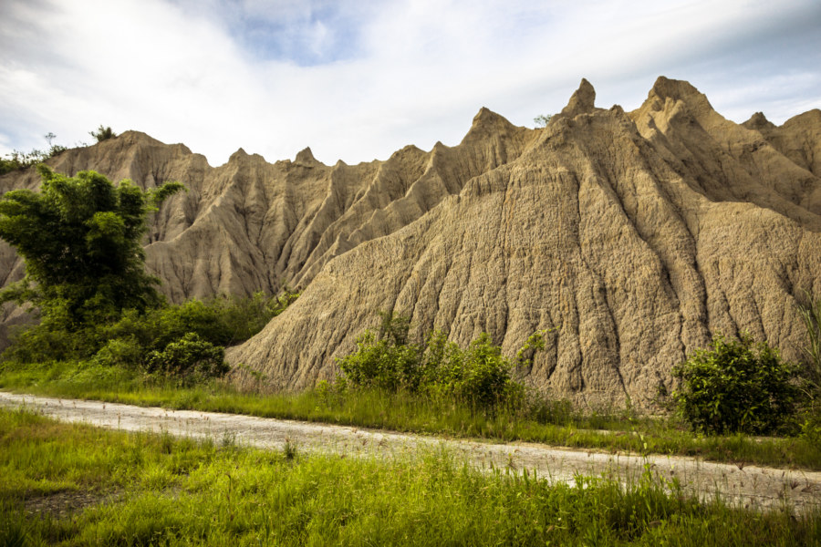 The modest badlands of Taiwan