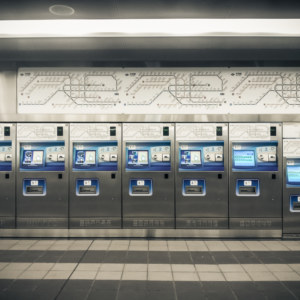 Taipei MRT ticket machines