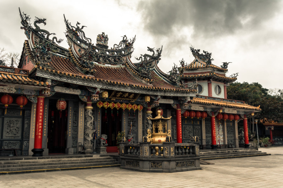 Huiji Temple on Zhishan
