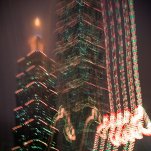 Taipei 101 in glitch