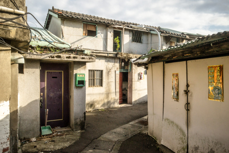 More abandoned homes in Fushui Village
