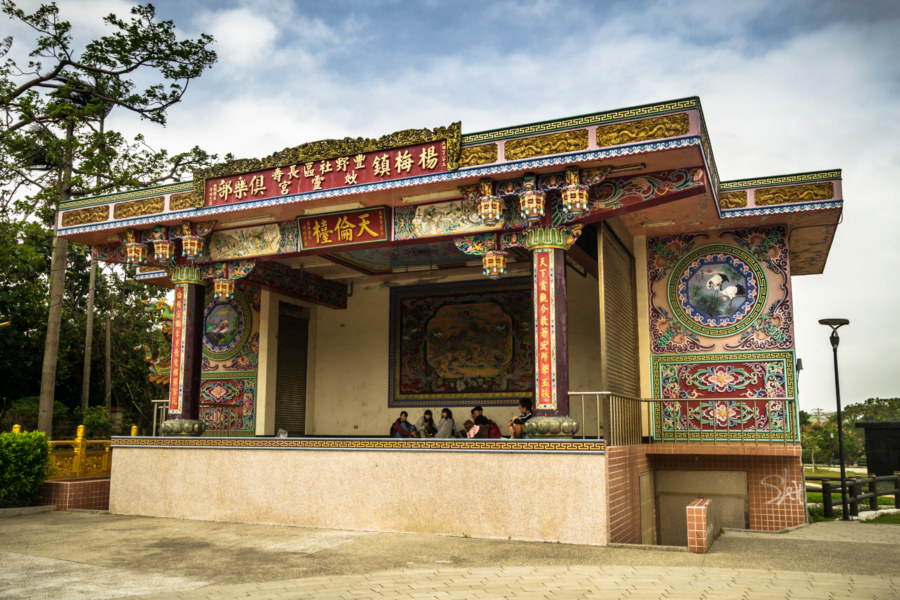 The old stage at Miaoling Temple 妙靈宮