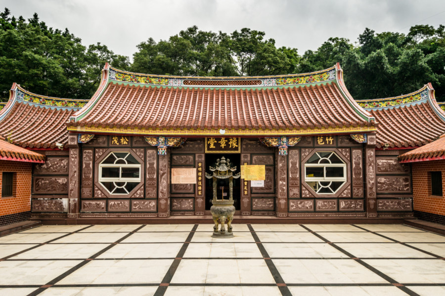 Yuzhang Hall, Jiudou Village 九斗豫章堂