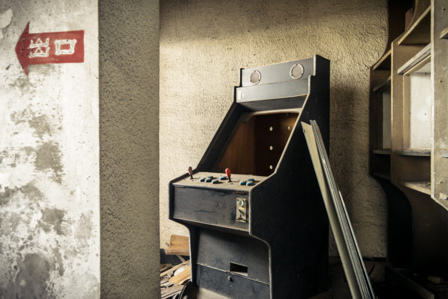 Empty Arcade Machine
