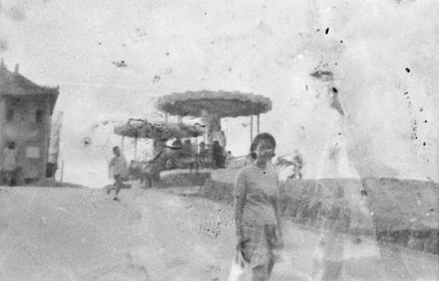 A ghostly photograph found on Yinhe Road