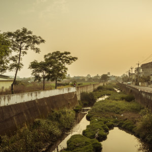 The derelict canals of Changhua county