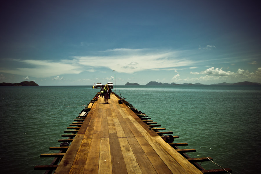 Return to Chumphon pier