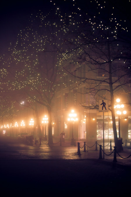 Gastown In The Fog