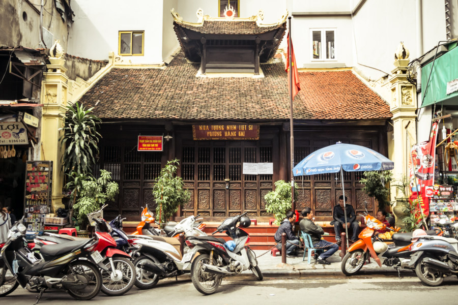 Hang Gai Martyr's Shrine, Hanoi